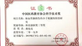 【喜讯】我院燕宪亮教授团队荣获中国医药教育协会科学技术奖