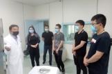 宿迁市第一人民医院医护人员来核医学科参观交流