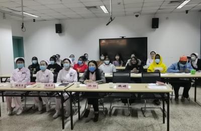 护理部举办第二届临床护理教师全英文讲课比赛