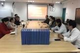 安徽省淮北市卫健委和人民医院领导来我院交流