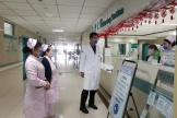 我院开展节前护理安全及疫情防控专项检查