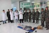 一总支二支部联合徐州第五干休所开展双拥共建党史学习教育